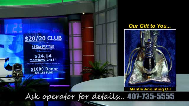 Club Mantle Anointing Oil
